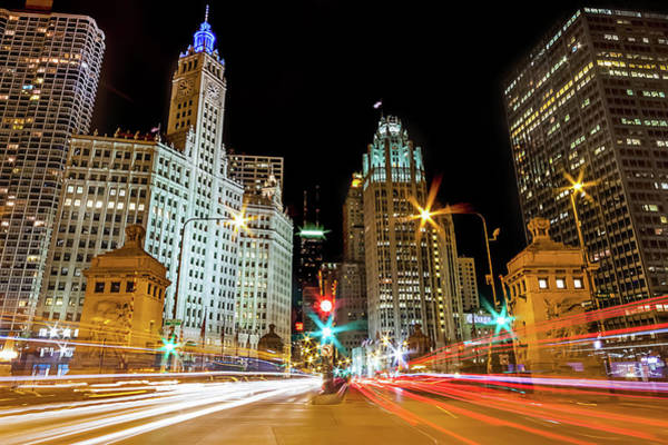 Michigan Avenue, Chicago Art Print