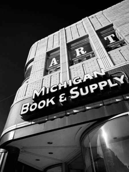 Photograph - Michigan Book And Supply by James Howe