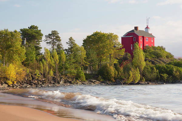 Marquette Photograph - Michigan, Marquette by Jamie and Judy Wild