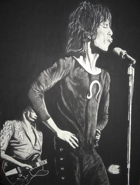 Wall Art - Drawing - Mick Jagger by Charles Rogers