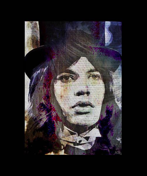 Wall Art - Digital Art - Mick Jagger - Circus by Absinthe Art By Michelle LeAnn Scott
