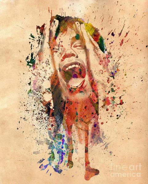 Hollywood Star Photograph - Mick Jagger by Mark Ashkenazi