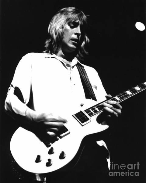 Spider Rock Photograph - Mick Ronson 1980 by Joyce Weir