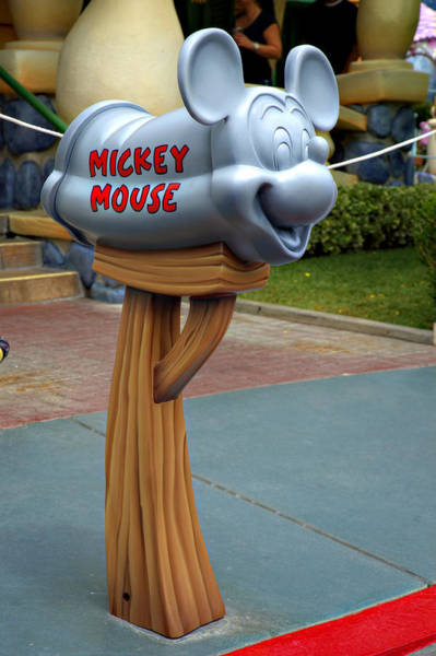 Mickey Mouse Photograph - Mickey Mail by Ricky Barnard