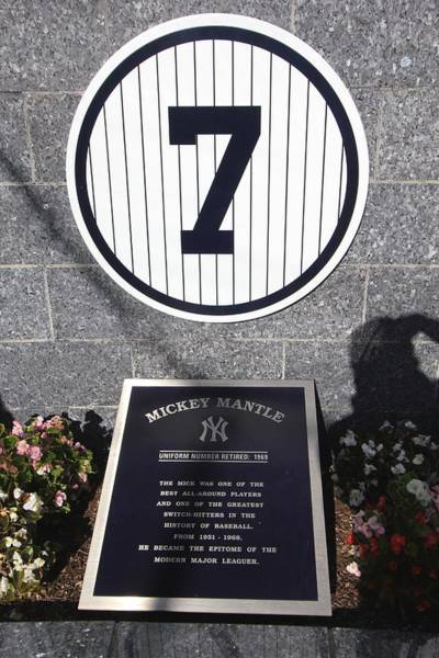 Mickey Mantle Wall Art - Photograph - Mickey Mantle by Allen Beatty