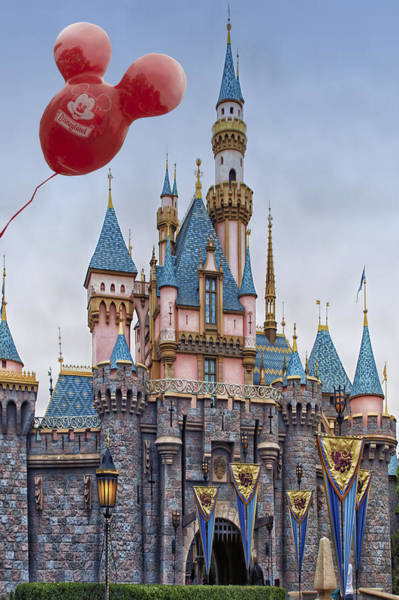 Wall Art - Photograph - Mickey Mouse Balloon At Disneyland by Thomas Woolworth