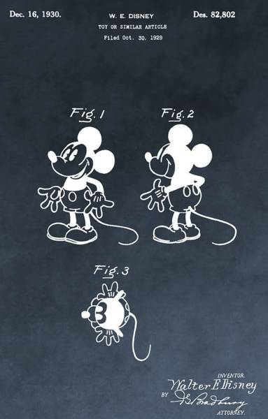 Disney World Digital Art - Mickey Mouse by Dan Sproul