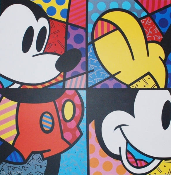 Walt Disney Word Photograph - Mickey by Rob Hans