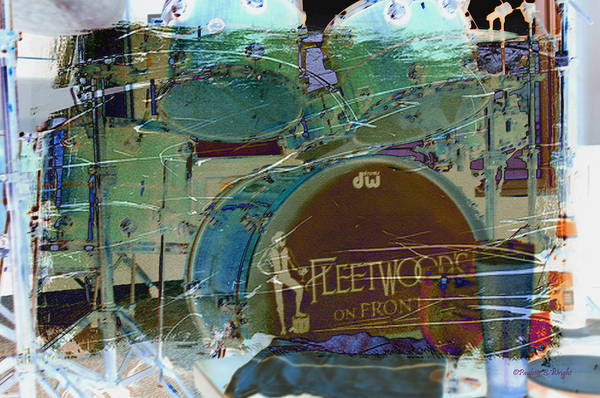 Wall Art - Photograph - Mick's Drums by Paulette B Wright