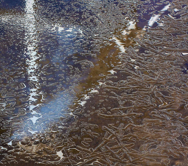 Photograph - Micro Ice Flow by Britt Runyon