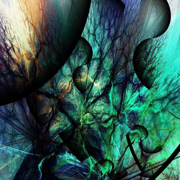 Wall Art - Digital Art - Microcosm  by David Lane
