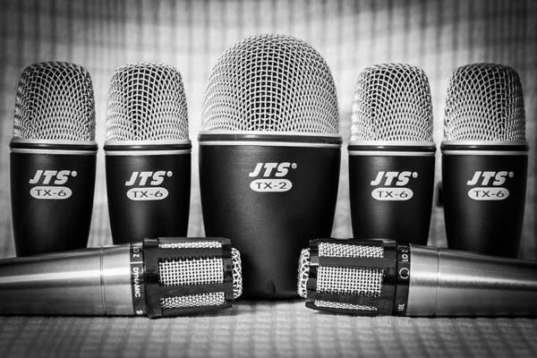 Photograph - Microphones by Gary Gillette
