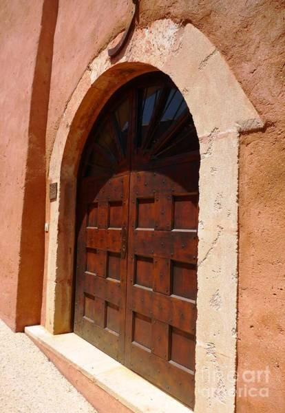 Photograph - Mid Age Door In Village De Roussillon by Cristina Stefan