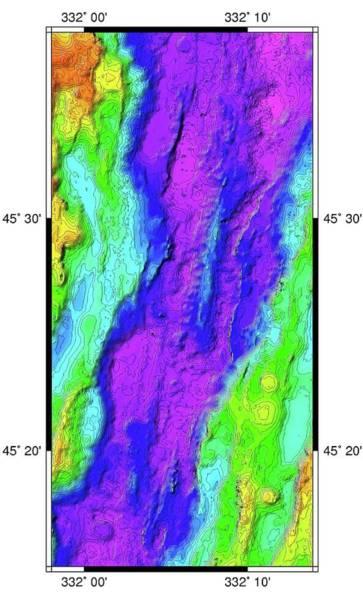 2d Photograph - Mid-atlantic Ridge by B. Murton/southampton Oceanography Centre