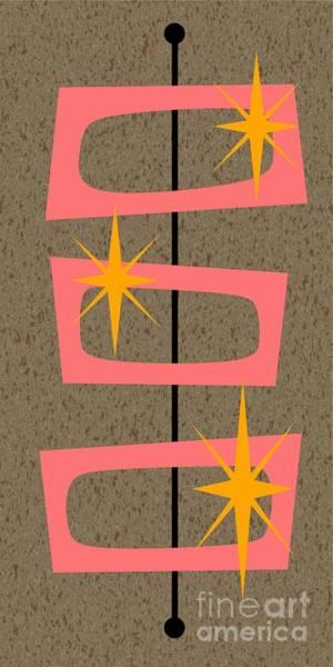 Digital Art - Mid Century Modern Shapes 6 by Donna Mibus