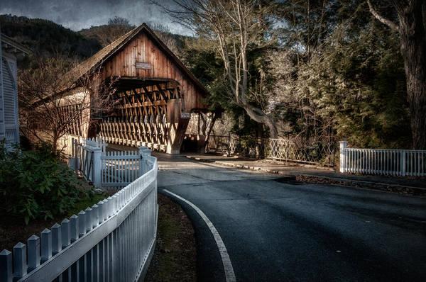 Photograph - Middle Bridge - Woodstock Vermont by T-S Fine Art Landscape Photography