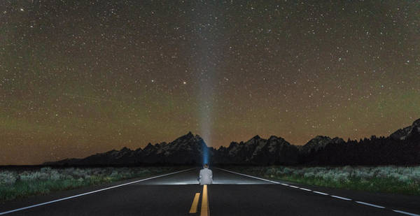 Photograph - Middle Of The Road by Kristopher Schoenleber