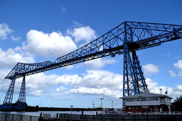 Photograph - Middlesbrough Transporter Bridge by Scott Lyons