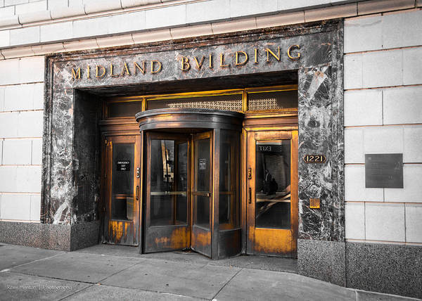 Photograph - Midland Building by Ross Henton