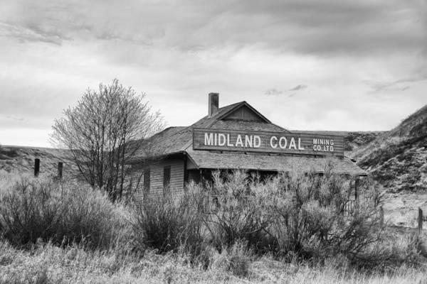 Photograph - Midland Coal Mining Co. by Guy Whiteley
