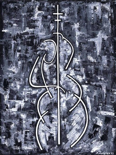 Wall Art - Painting - Midnight Blue by Kamil Swiatek