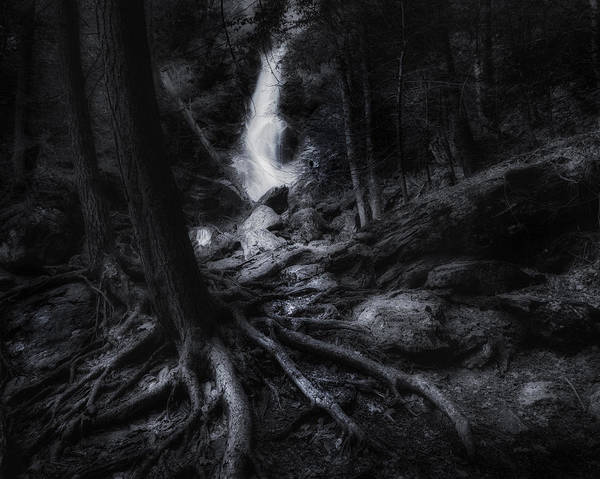 Photograph - Midnight Falls by Bill Wakeley
