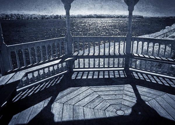 Deck Digital Art - Midnight On The Bay by John Cardamone
