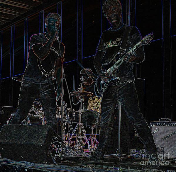 Photograph - Midnight Rock by David Birchall