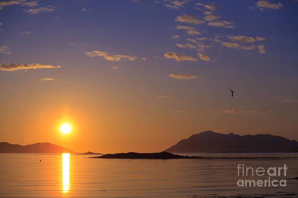 Photograph - Midnight Sun Norway by Babak Tafreshi