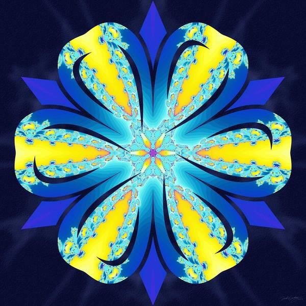 Digital Art - Midnight Swirl by Derek Gedney