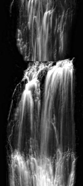 Photograph - Midnight Tiers Of Water by Wes and Dotty Weber