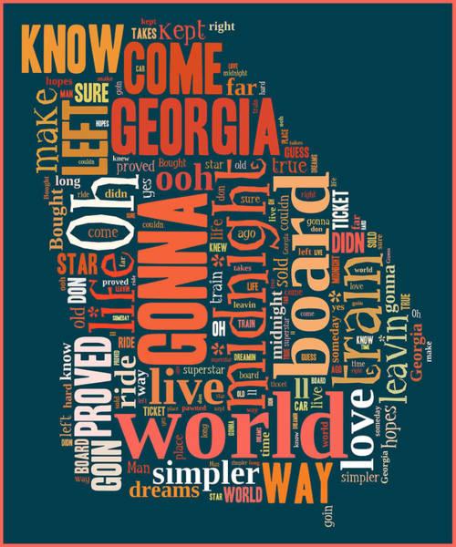 Digital Art - Midnight Train To Georgia 3 by Paulette B Wright