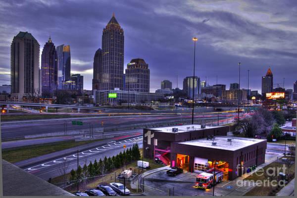 Atlanta Symphony Orchestra Photograph - Midtown Atlanta Fire Proof Ready by Reid Callaway