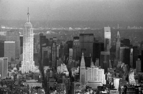 Photograph - Midtown Manhattan 1980s by Gary Eason