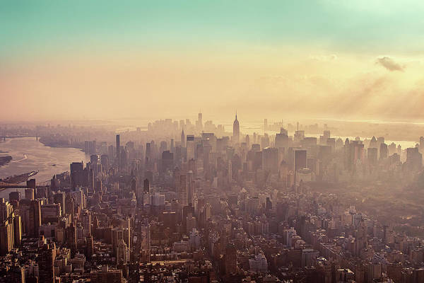 Photograph - Midtown Manhattan At Dusk by Matthias Haker Photography