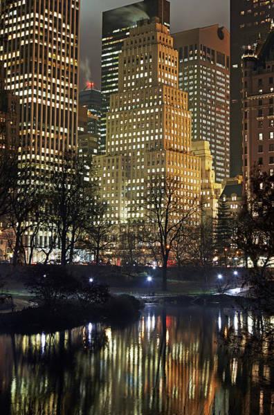 Baxter State Park Photograph - Midtown Manhattan From Central Park by Allan Baxter