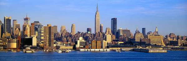N.c Wall Art - Photograph - Midtown Manhattan From New Jersey by Panoramic Images
