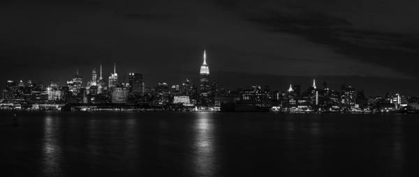 Photograph - Midtown Manhattan Skyline by David Morefield