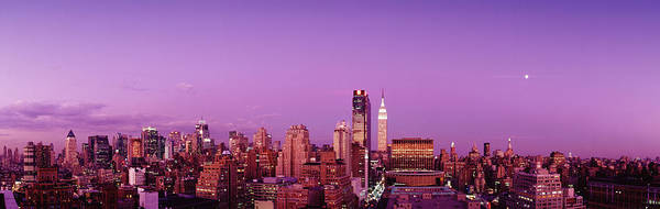 Moonscape Photograph - Midtown Nyc, New York City, New York by Panoramic Images