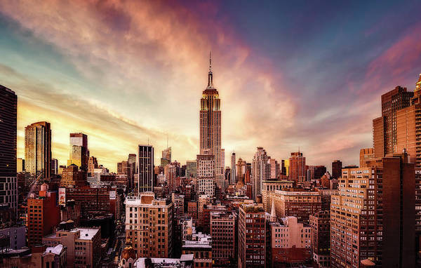 Wall Art - Photograph - Midtown Sunset by Javier De La