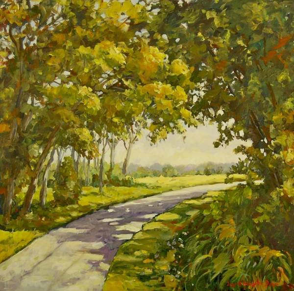 Painting - Midway Village Rockford Illinois by Ingrid Dohm