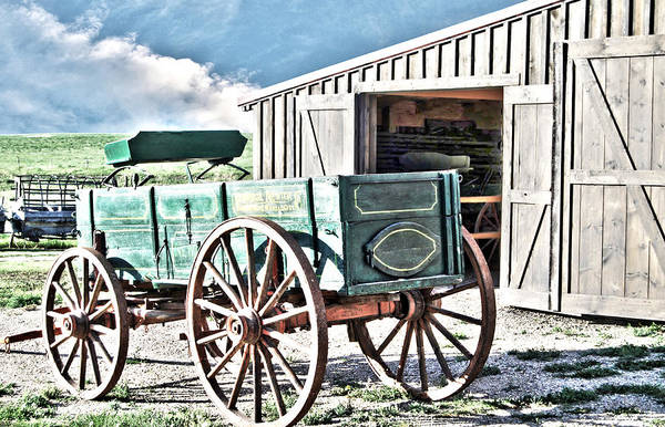 Photograph - Midwest Life Barn And Buggy by Judy Hall-Folde