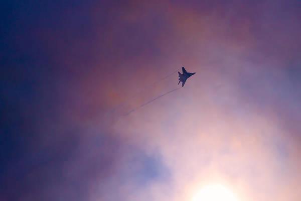 Interceptor Photograph - Mig-29 Against The Sun - Featured 3 by Alexander Senin