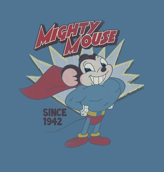 Wall Art - Digital Art - Mighty Mouse - 1942 by Brand A