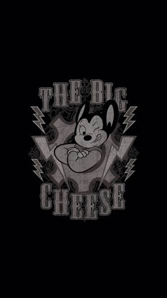 Wall Art - Digital Art - Mighty Mouse - The Big Cheese by Brand A