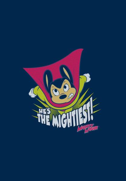 Wall Art - Digital Art - Mighty Mouse - The Mightiest by Brand A