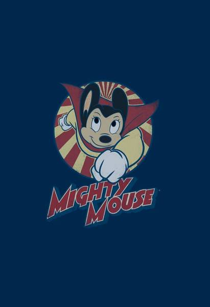 Wall Art - Digital Art - Mighty Mouse - The One The Only by Brand A