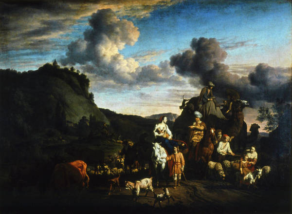 Wall Art - Painting - Migration Of Jacob by Granger