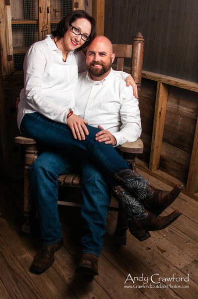 Photograph - Mike And Erin Townsend by Andy Crawford