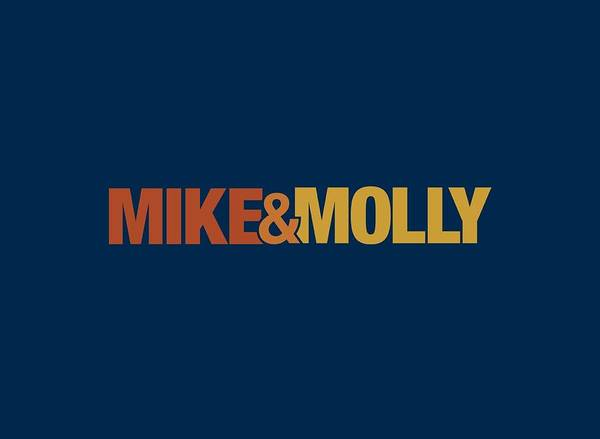 Tv Wall Art - Digital Art - Mike And Molly - Logo by Brand A